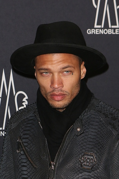 "Jeremy Meeks (aka the ""hot felon"") just made his NYFW debut"