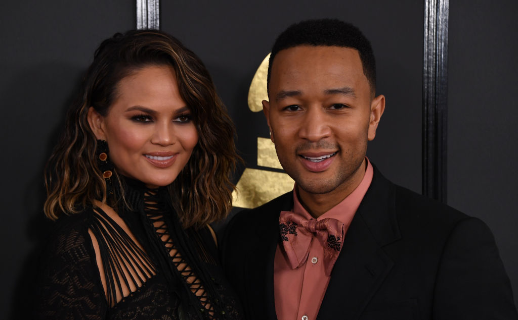 Chrissy Teigen pointed out it shouldn't be #RelationshipGoals for merely taking care of your partner when they need it