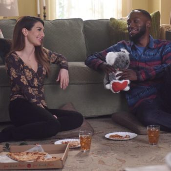 "Jess helps Winston throw the most bobcat-tastic proposal on ""New Girl"" and awww"