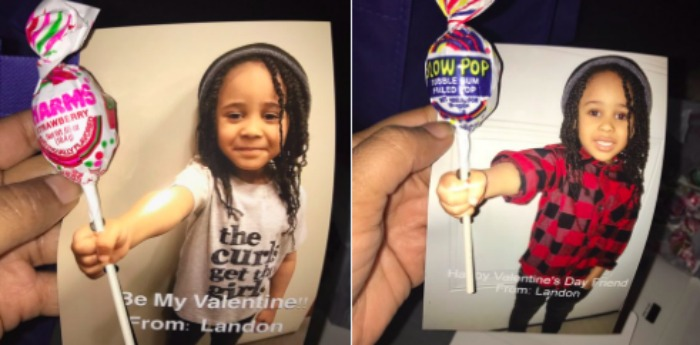 This 4-year-old's Valentine's Day card is winning the internet's cold heart