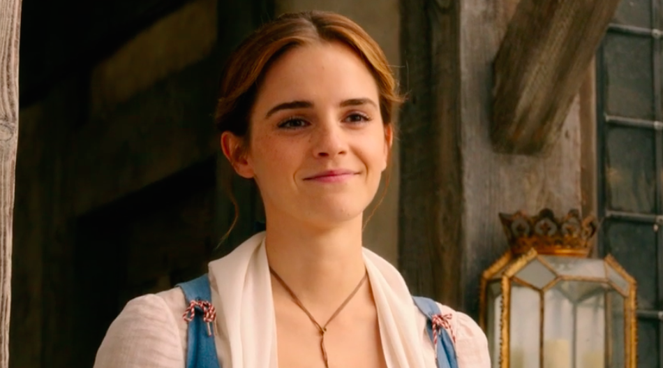 "Emma Watson gushes about how much she loves ""Beauty and the Beast"" and we're like yeah, same"