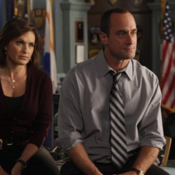 Olivia Benson and Elliot Stabler just had an 'SVU' reunion IRL, and here's the kiss to prove it!