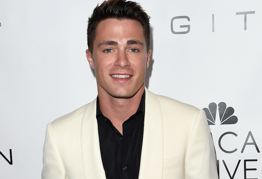 Colton Haynes sounds totally in love with his brand new boyfriend, and we couldn't be happier for him