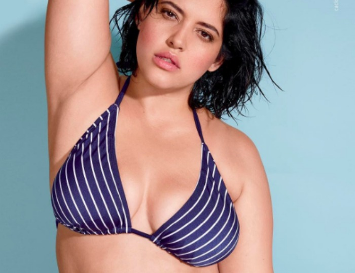 The stretch marks in Lane Bryant's latest swimsuit ad are giving us life