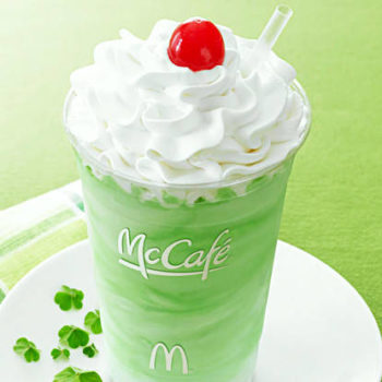 There is a secret Shamrock drink at McDonald's, and here's how to order it