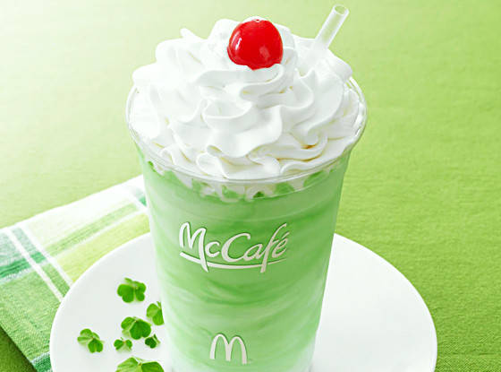 McDonald's made a super advanced straw for the Shamrock Shake, and it's next level