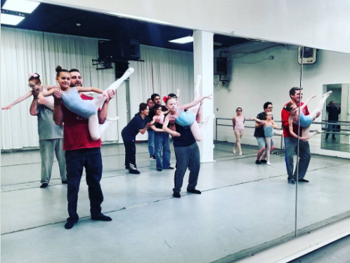 This daddy and daughter ballet class has turned us into a heart-eyed emoji