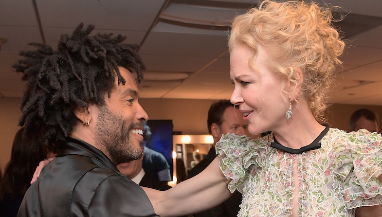 Nicole Kidman says she was once engaged to Lenny Kravitz, and how did the world collectively miss this?!