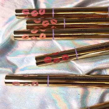 Tarte Cosmetics' new lipstick and liner duo makes it easier to touch up our lips on-the-go