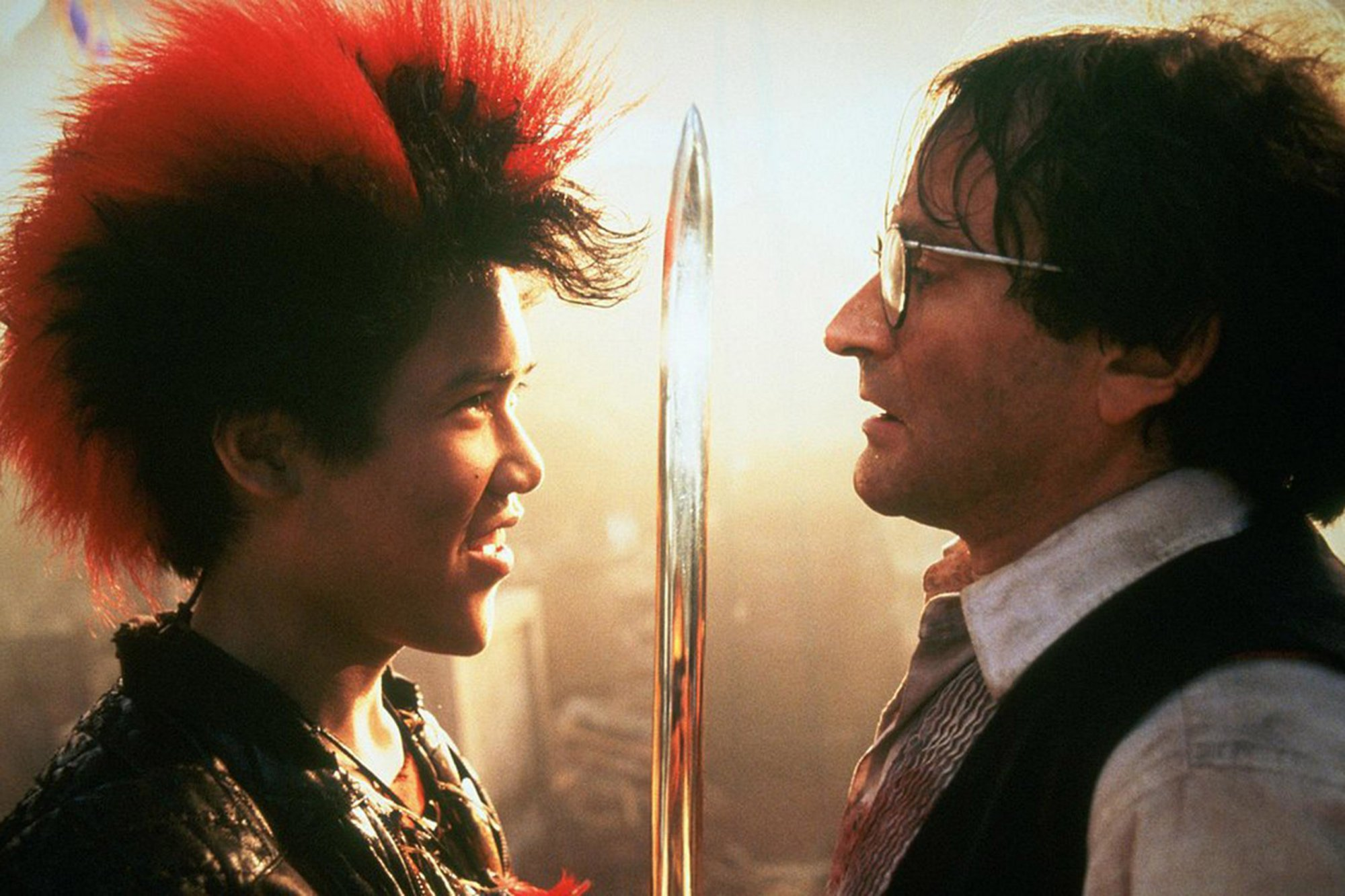 "There's a kickstarter for a ""Hook"" prequel about Rufio, and we are behind this 100%"