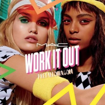 This is your complete look at MAC's colorful '80s workout-inspired collection