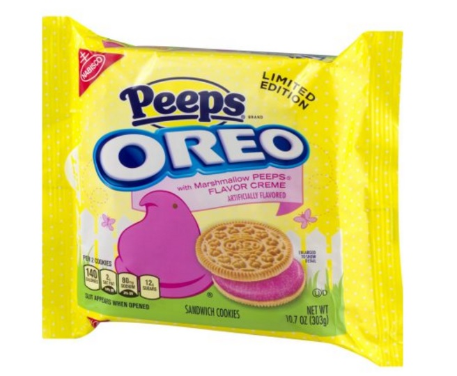 Peeps-flavored Oreos are officially out, and we don't know what to think
