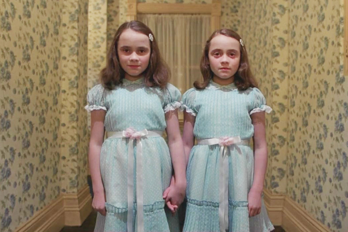 """The creepy twins from """"The Shining"""" are all grown up but still down to play, 37 years later"""