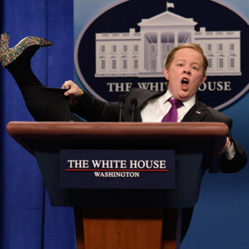 """SNL"" bid a hilarious farewell to Sean Spicer, and we'll kind of miss you, Spicey"