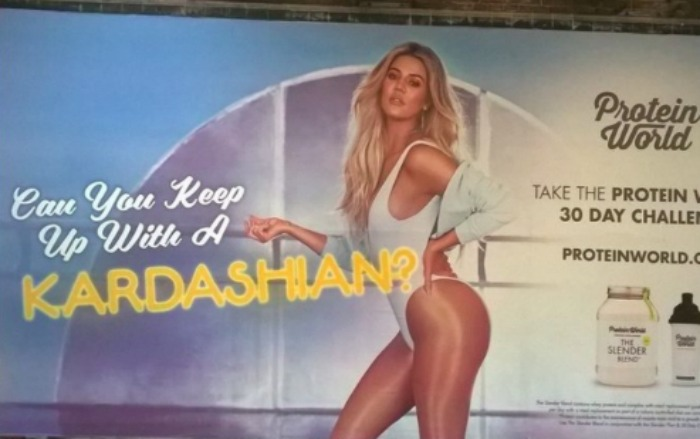 People aren't happy with this company's body shaming ad in the London subway