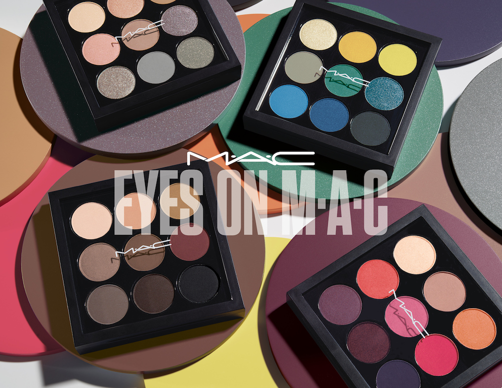 MAC's new Eyes x 9 collection is a fantasy for those of us who are eyeshadow-obsessed