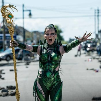 Rita Repulsa is out to get the Power Rangers in the movie's latest trailer