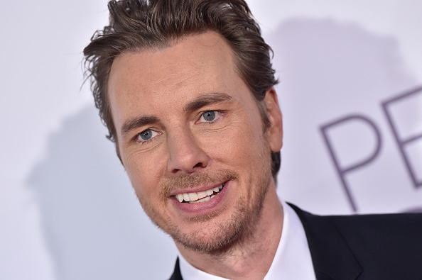Dax Shepard just shared a pretty surreal experience with his own movie poster