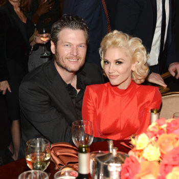 Gwen Stefani showed up at Blake Shelton's concert last night, and the vid is adorable