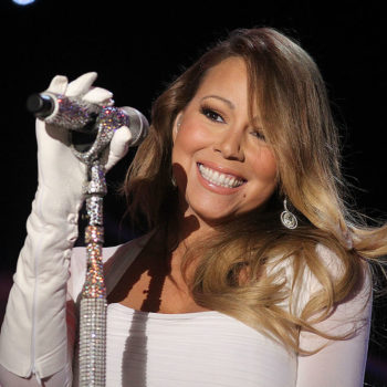 Mariah Carey's twins look adorably at ease in a recording studio
