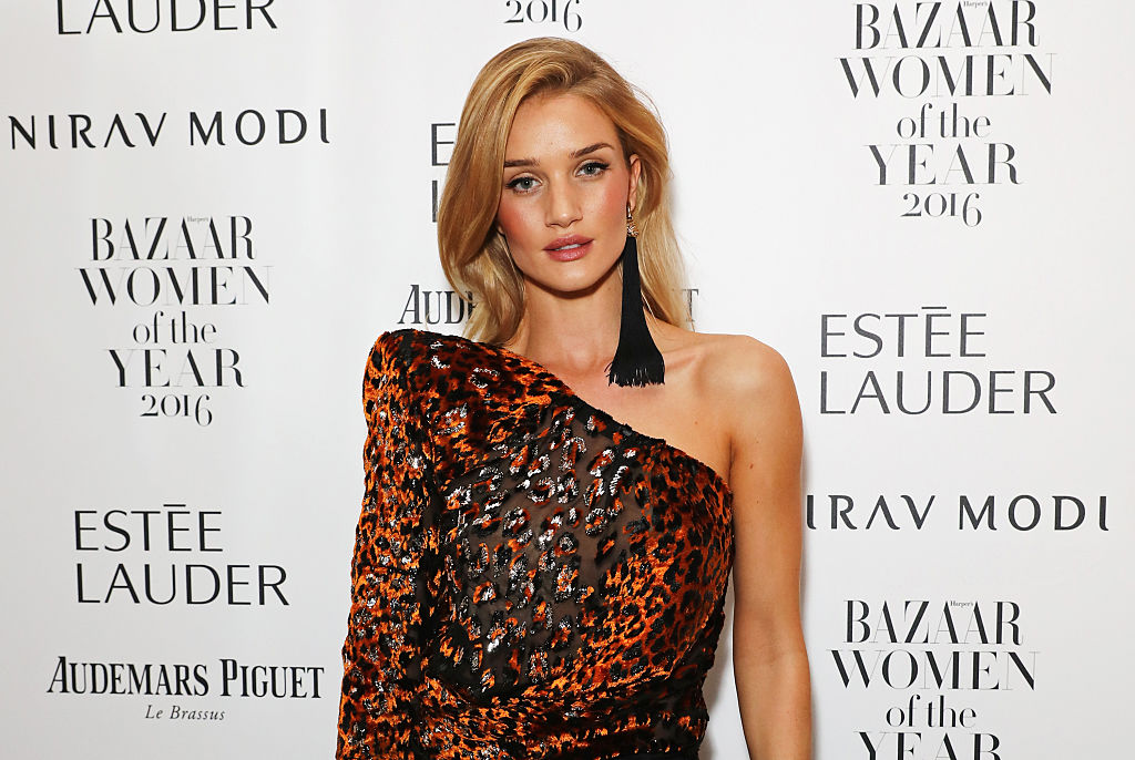 Wait, Rosie Huntington-Whiteley owns HOW many pairs of jeans???