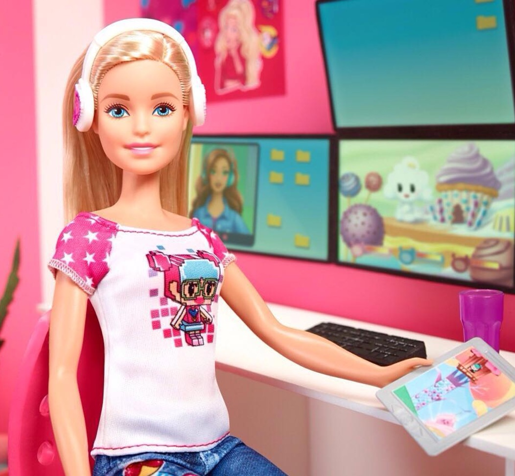 Barbie gets a futuristic update as a voice-activated hologram