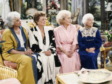 "The ""Golden Girls"" cafe is finally open, banana wallpaper and all"