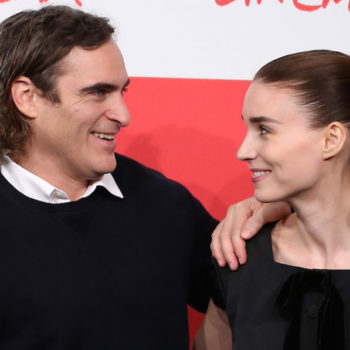 Joaquin Phoenix and Rooney Mara are apparently a couple now, and it somehow makes total sense