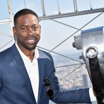 "Sterling K. Brown, Olivia Munn, and Jacob Tremblay filming ""Predator"" together is somehow exactly what we needed today"