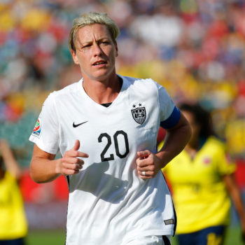 Abby Wambach is engaged, and we're so thrilled for the adorable couple
