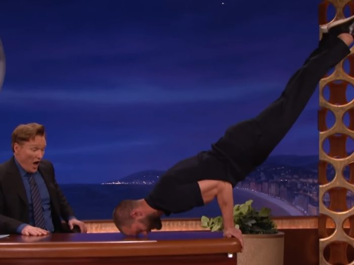 Try To Remain Calm  But Justin Trudeau Can Do A Pommel