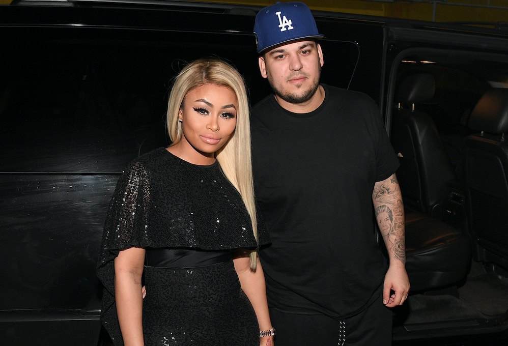 """Rob Kardashian just shared his """"favorite pic"""" with Dream after his split from Blac Chyna"""