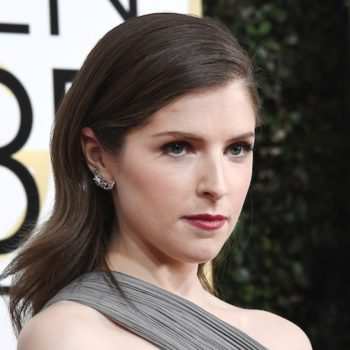 Anna Kendrick's simple blue dress has a cool surprise in the back
