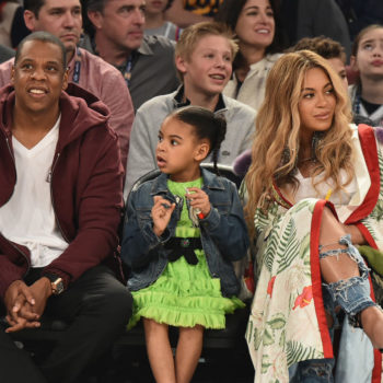 Please come look at this photo of Jay Z and Blue Ivy making the EXACT SAME FACE