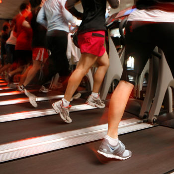 This guy ran on multiple treadmills in a single workout, and we're seriously impressed