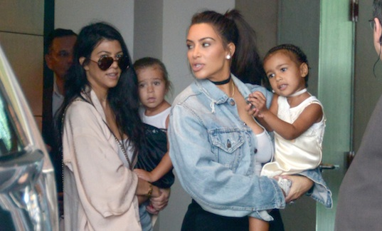 North West Kardashian and Penelope Disick look just like us when our friends force us to go to a party