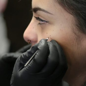 Getting freckles tattooed on your face is a thing now, just so you know