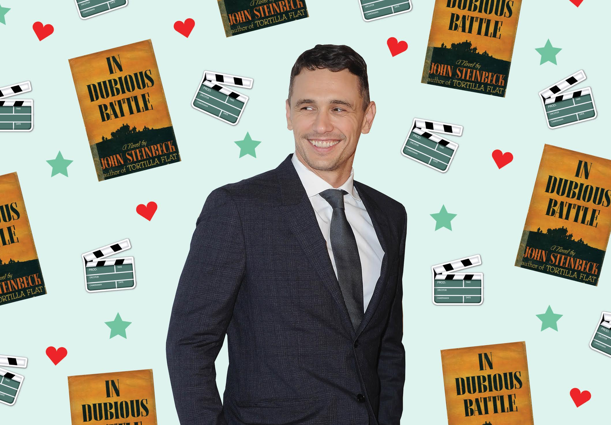 """James Franco talks directing """"In Dubious Battle,"""" political engagement and what era his aura is from"""
