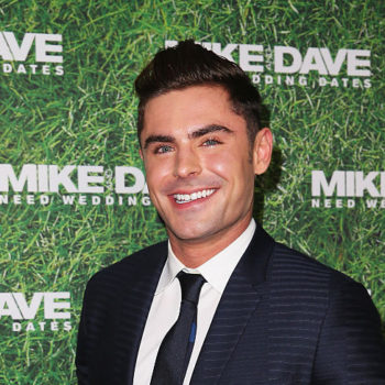 Okay, wow. Zac Efron is seriously a fan of this Netflix star