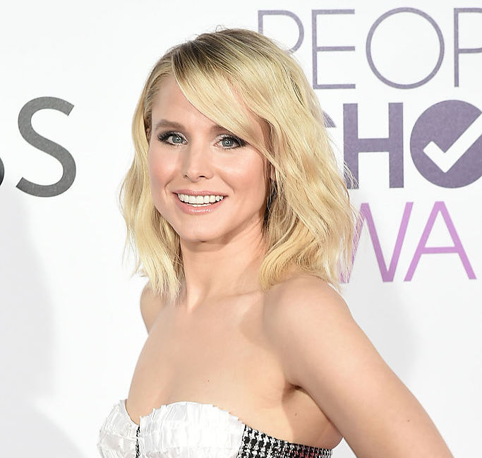 Kristen Bell just hopped on the unicorn food train and now we are drooling rainbows