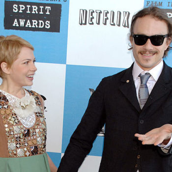 Looking back at Michelle Williams' first ever Oscars with Heath Ledger is breaking our hearts