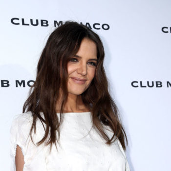 Katie Holmes just proved her and Suri are twins by posting this photograph