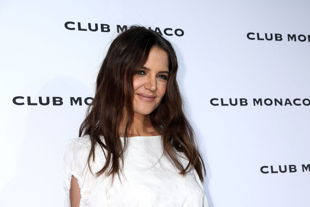 Katie Holmes just proved she and Suri are twins by posting this photograph
