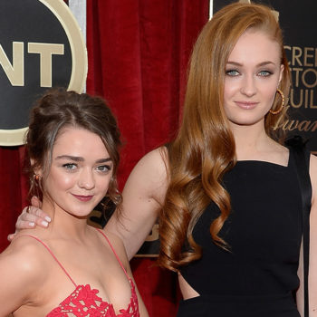 "Maisie Williams sent the most adorable birthday message to her ""GoT"" BFF Sophie Turner"