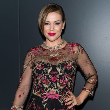"Alyssa Milano chatted with us about food, fashion, and whether a ""Charmed"" reunion is in the cards"