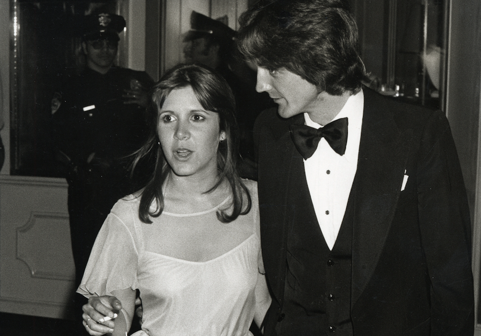 "Carrie Fisher's 1978 Oscars date just detailed his wild night with a ""real-life princess"""