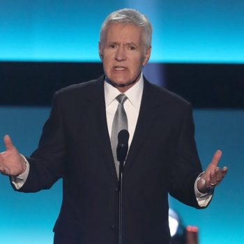 "Alex Trebek rapping on last night's ""Jeopardy"" is our everything"