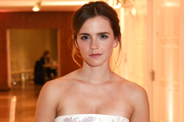 """Emma Watson says Hermione and Belle are """"connected,"""" and we completely agree"""