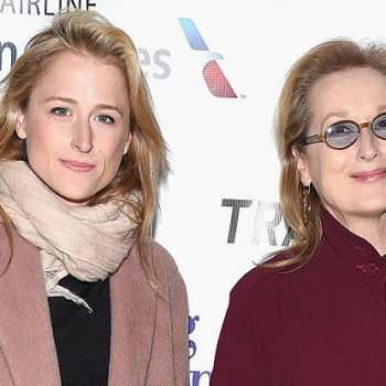 Meryl Streep's daughter Mamie Gummer is rocking the coolest icy blonde bob these days