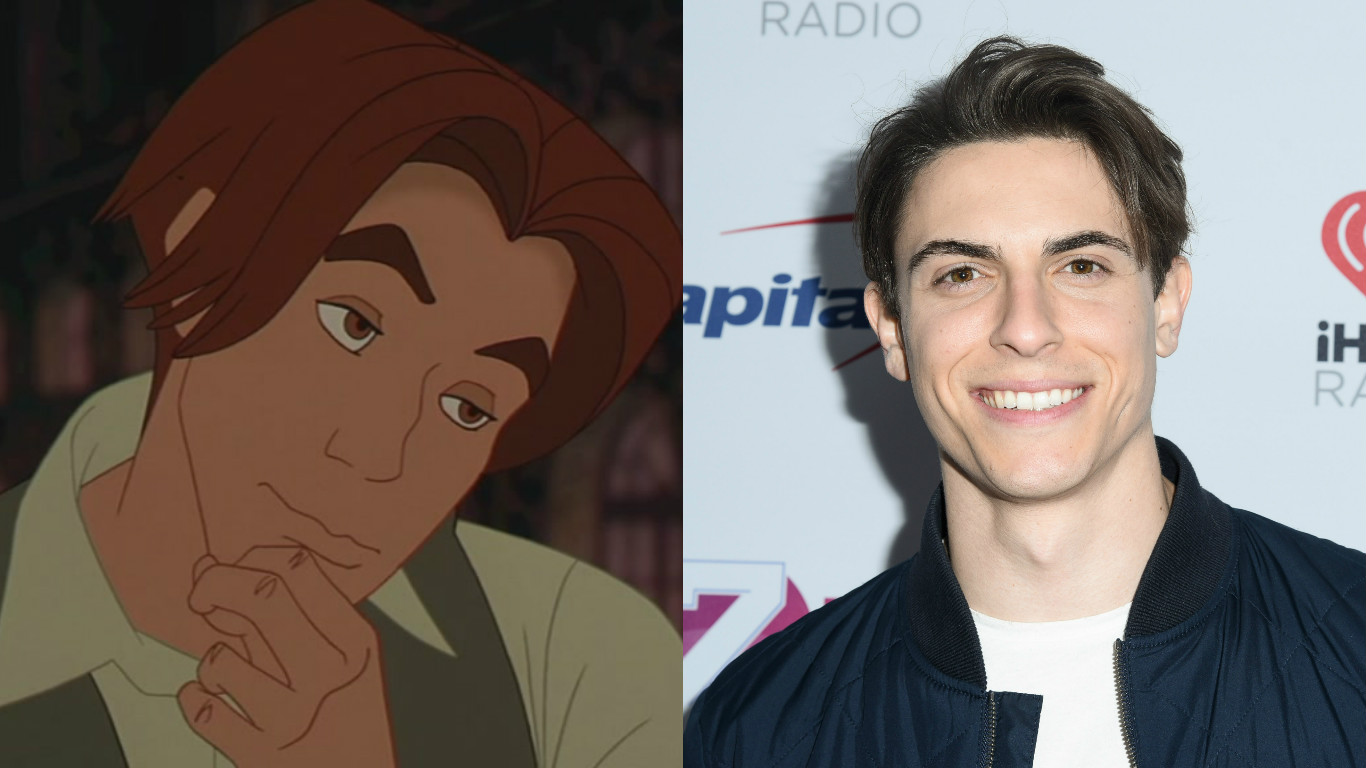 """Get ready to swoon, here's what you need to know about the new Dimitri in the """"Anastasia"""" musical"""